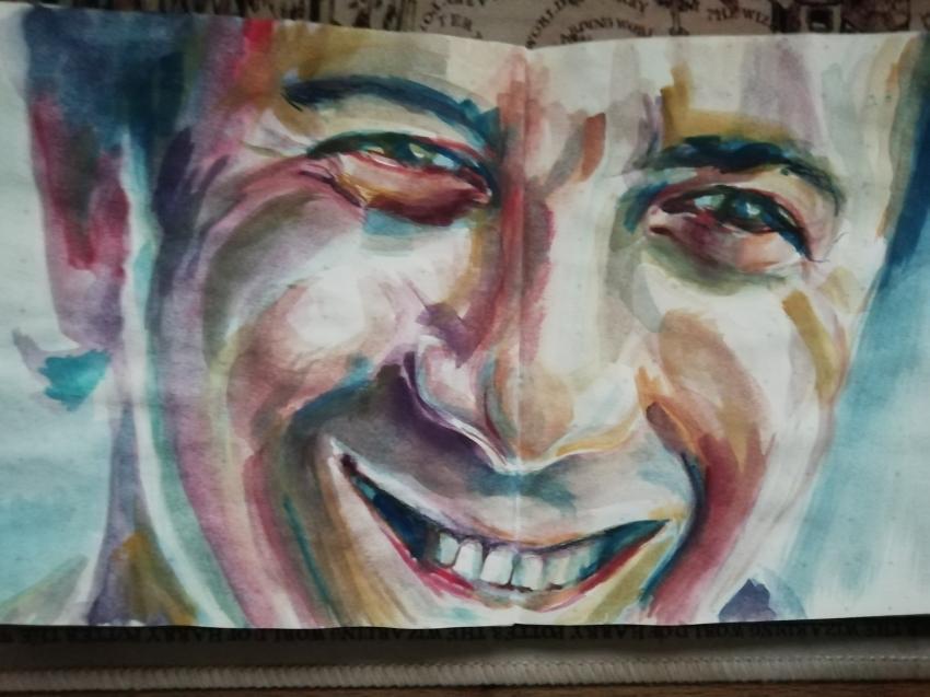 Dustin Hoffman by Junkova14